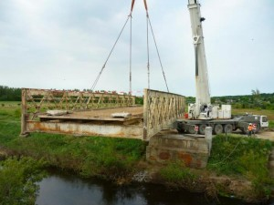 Medina, Nádor csatorna mederburkolási munkái, Medina híd bontási munkái. DOVI-Trade Kft